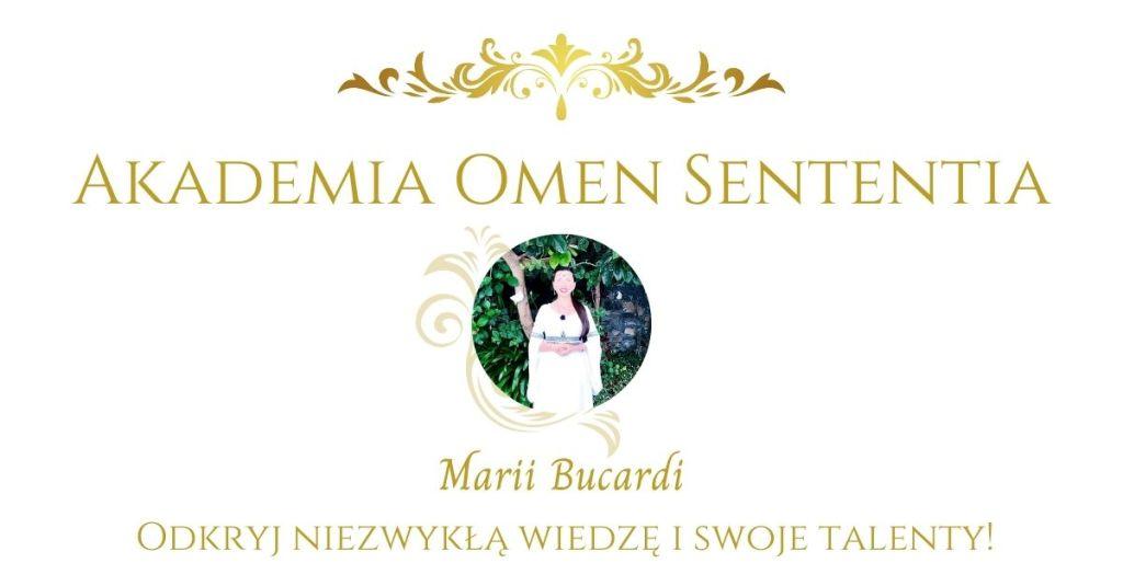 Akademia Omen Sententia, rozwój osobisty i duchowy, Maria Bucardi