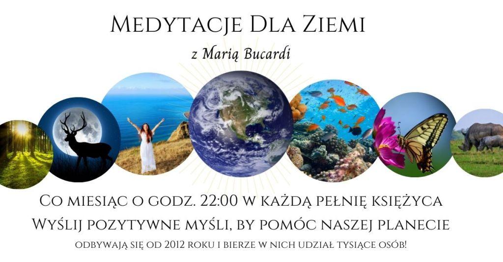 medytacje dla Ziemi, rozwój osobisty i duchowy, Maria Bucardi