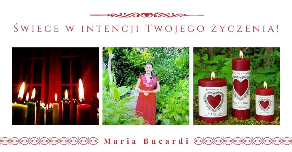 świece intencyjne, rytuały, Maria Bucardi