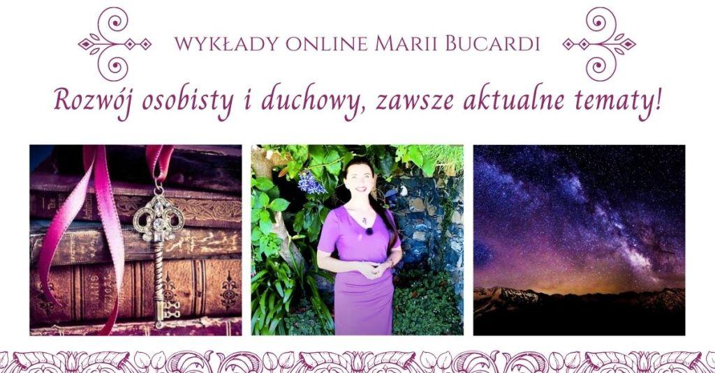 Wykłady online Maria Bucardi, rozwój osobisty i duchowy
