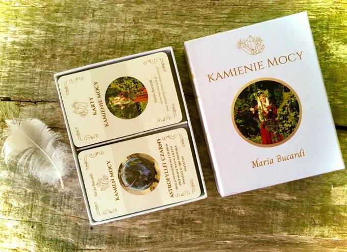 Karty Kamienie Mocy Marii Bucardi, drukowane1